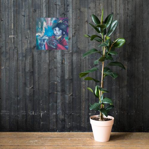 Affiche personnalisée en papier mat amélioré – Otohime