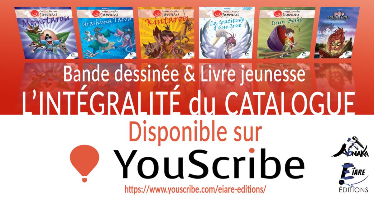 L'intégralité du Catalogue Eïare Éditions disponible sur YouScribe